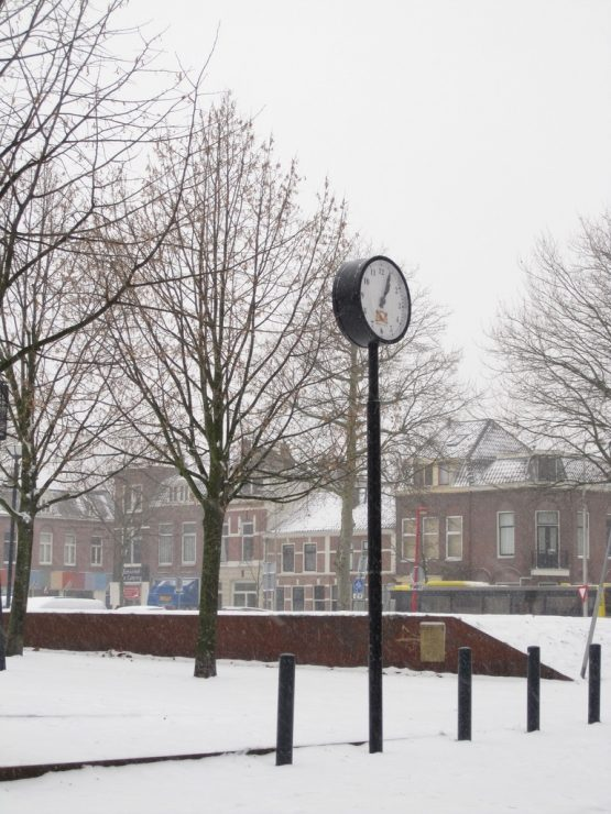 One of the images that inspire me. A clock in Griftpark, Utrecht.