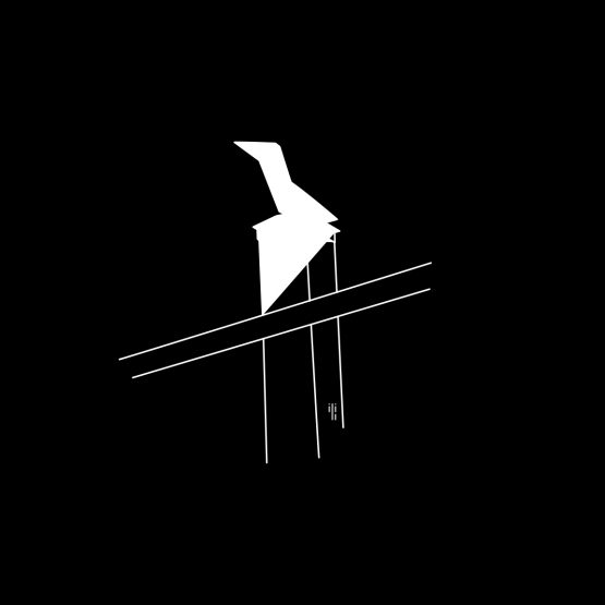 cutout design of a weathercock